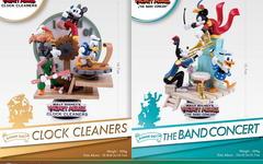 迪士尼精美制作,重新经典时钟清洁 & 乐队演奏故事