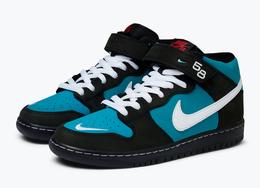 气质复古高级!全新 Nike SB Dunk Mid 下月来袭