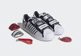 时尚感满分!三方联名 adidas Superstar 明日登场