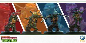 QMX新作发布,Q版《忍者神龟》意外可爱