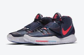 美国主题配色!全新 Nike Kyrie 6 即将登场