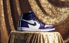 穿搭效果韵味十足,白紫Air Jordan 1最新美图释出