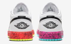 鸳鸯鞋底+手绘涂鸦!这双 Air Jordan 1 Low 小姐姐必备!