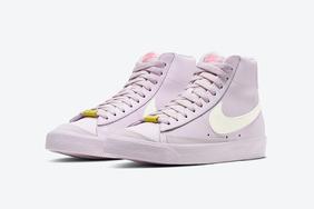 元氣少女必備?淡粉色 Nike Blazer Mid '77 驚艷亮相!