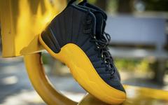 黑黄组合绝了!Air Jordan 12 全新配色实物美照释出!