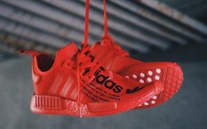 讨喜的大红装扮!atmos x adidas 联名即将释出
