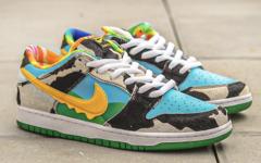 细节好评!牛奶冰淇淋 Ben&Jerry's x Nike SB Dunk Low 今夏登场!
