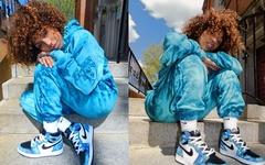 Rox Brown 上脚演绎!AJ 1 扎染配色下月发售,神仙颜值你心动了吗?