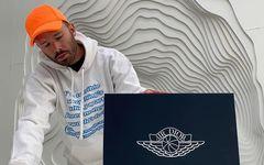 現代藝術家 Daniel Arsham 曬出 Dior x Air Jordan 1 開箱視頻!
