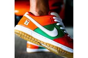 實物上腳曝光!7-11 x Nike SB Dunk Low 顏值不俗!