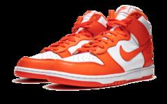 "活力橙配色OG感十足,Nike Dunk High ""Syracuse""明年发售"