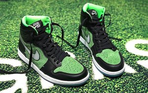 """下月正式发售!""""黑绿"""" Air Jordan 1 Zoom 香不香?"""