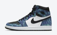 每双鞋都独一无二!Air Jordan 1 扎染配色官图释出,即将发售!