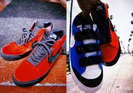 Kevin Bradley 与 Nike 联名还有 Blazer Mid !天鹅绒加持,规格极高!
