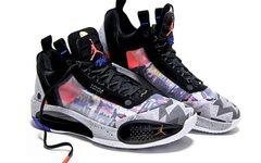 """这颜值,太香了!Air Jordan 34 Low 全新 """"Print"""" 配色下周发售!"""