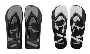 巴西国宝级品牌 Havaianas x mastermind JAPAN 全新联名鞋款发布!