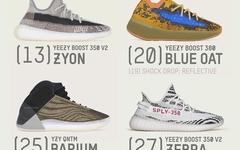 下月 4 双 Yeezy 发售!哪一双是你的必入?