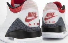 最新实物美照释出!这双 Air Jordan 3 新配色细节绝了!
