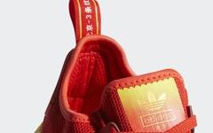 北京主题配色!这款大红装扮的 NMD R1 你觉得如何?