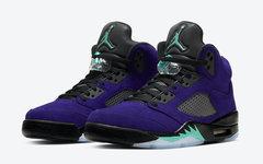 官图释出!全新紫葡萄 Air Jordan 5 即将发售!
