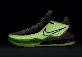 渐变夜光视觉效果美如画,Nike LeBron 17 Low新配色即将发售