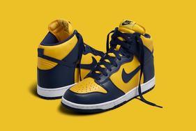 "有真OG内味儿了,Nike Dunk High ""Michigan""9月发售"