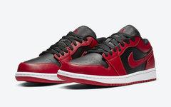 官图释出,Air Jordan 1 Low大学红配色即将发售