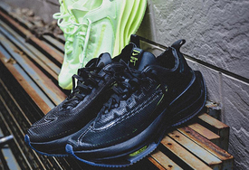 超前卫风格跑鞋,Nike Zoom Double Stacked双层气垫结构不要太帅