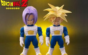 《龙珠Z》软胶收藏限定,特兰克斯双版本