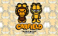 加菲猫与 BAPE 招牌元素结合!A BATHING APE® x 加菲猫联名系列即将发布!