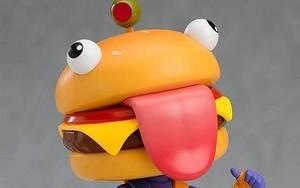 超搞怪的汉堡头设计,《堡垒之夜》粘土人系列模型