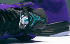 最新美照释出!Air Jorand 5 新紫葡萄下周发售!