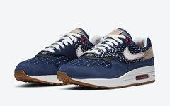 售价比一般鞋款炒卖价还高!DENHAM x Nike Air Max 1 官图释出!