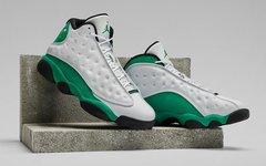 神似雷阿伦 PE !白绿 Air Jordan 13 你心动了吗?九月发布!