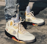 """致敬""""流川枫""""! Off-White x Air Jordan 5 联名新作上脚效果不俗!"""