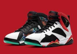 经典祥云龙纹元素,Air Jordan 7中国配色亮相