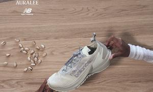 半透明防撕裂鞋面!AURALEE x New Balance 全新联乘即将登场!