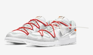 Off-White x Nike SB Dunk Low 新配色曝光!白银设计帅啊!