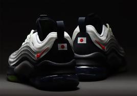 后跟日本国旗点缀!Nike 与 atmos 联合发布新鞋型 Zoom 950 !