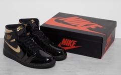 发售日期曝光!黑金漆皮 Air Jordan 1 十一月来袭!