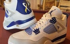 "Air Jordan 4 ""Make-A-Wish"" 首度曝光!癌症患儿设计!"