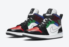 上一款市价高于原价!多色拼接 Air Jordan 1 Mid 又来了!