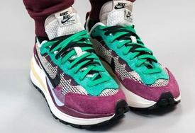 已被种草!sacai x Nike VaporWaffle 紫绿配色最新美照释出!今秋发售!