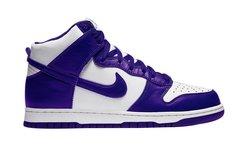 超惹眼的电光紫?Nike Dunk High 新配色将售