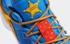 定制?市售?《玩具总动员》联名 adidas D.O.N. Issue #2 曝光!