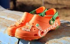 Crocs 与美国街头品牌 Carrots 首度合作联名鞋款!