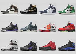 Jordan Brand 2020 年秋冬 AJ 公布!一共 12 双,豪华阵容清空你的钱包!