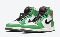 "发售日期更新!Air Jordan 1 ""Lucky Green"" 下月发布!"