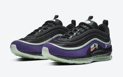 """绿紫色调的万圣节,Nike Air Max 97 """"Halloween"""" 即将发售"""