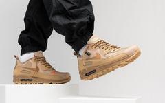 秋冬当然是小麦色了,Nike Air Max 90 Surplus 全新配色亮相